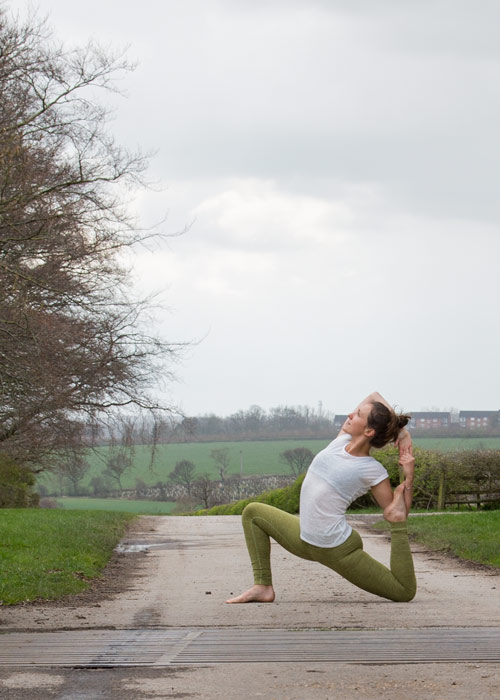 Yoga at wentworth woodhouse barnsley with northern karma