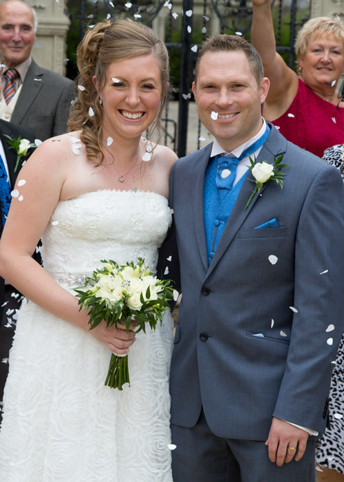 Confetti shot barnsley photography