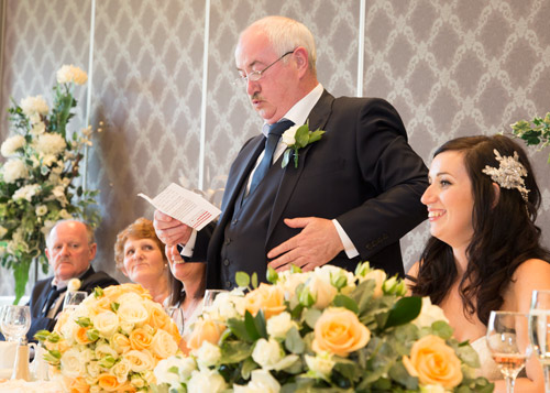 Father of the bride speech burntwood court hotel barnsley photography