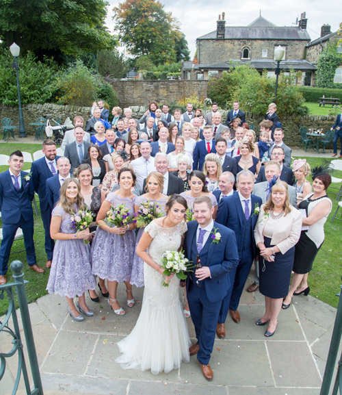 group photograph at cubley hall penistone sheffield