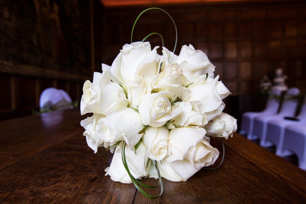 white bouquet by wickham and taylor flowers barnsley