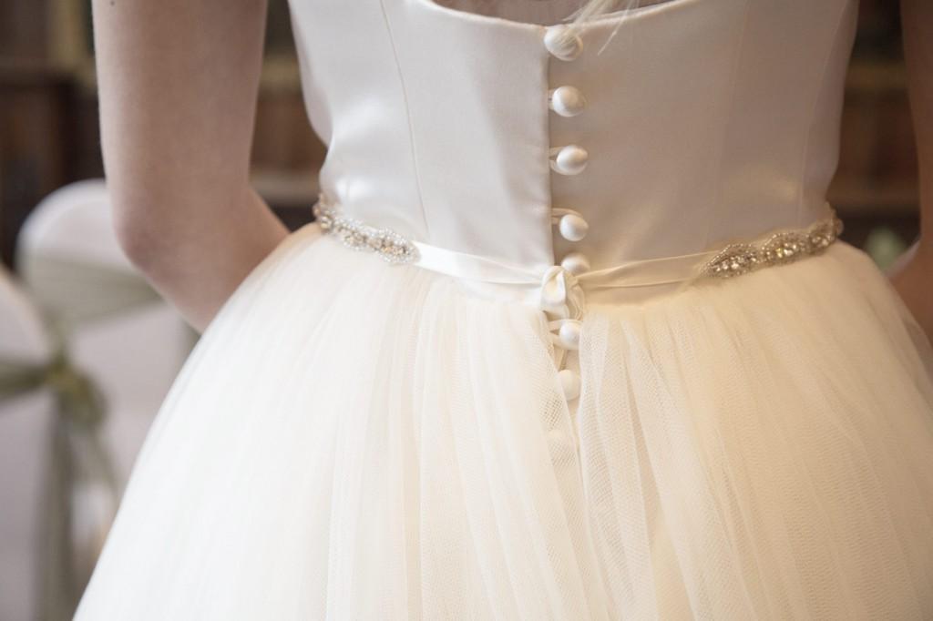 dress detail of buttons