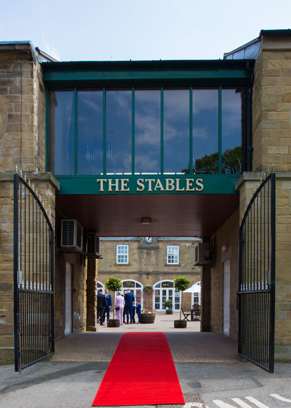 THe main entrance the stables high melton doncaster