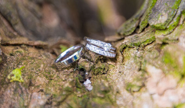 wedding rings on a tree the stables high melton doncaster