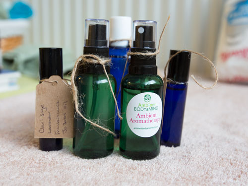 products from aromatherapy product making workshop barnsley