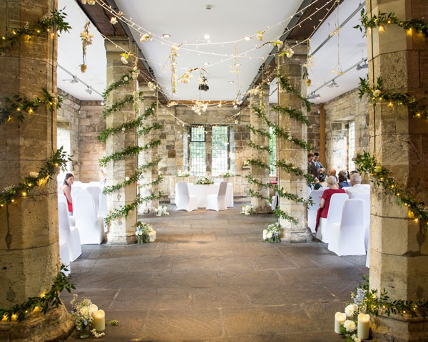 the wedding ceremony room york hospitium