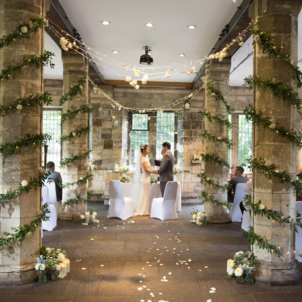 wedding ceremony york hospitium 2016