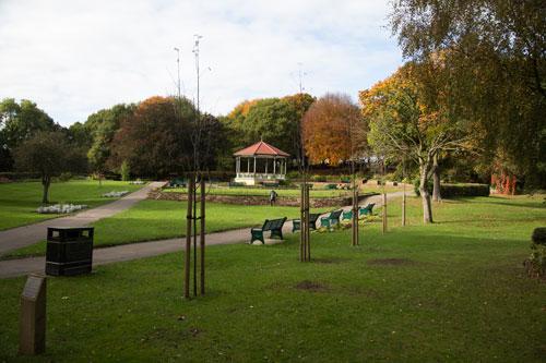 Elsecar park band stand