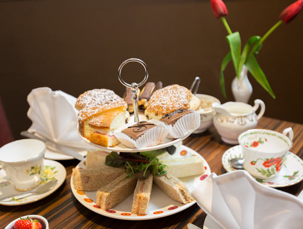 Afternoon tea wedding breakfast option at Holiday Inn Barnlsey