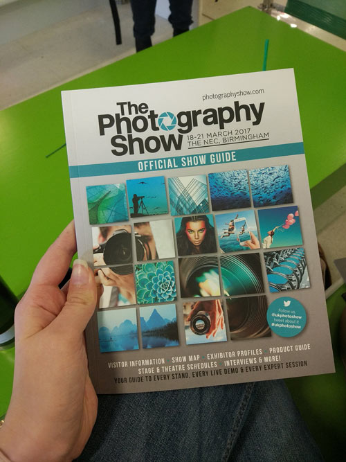 THe Photography Show Show Guide 2017