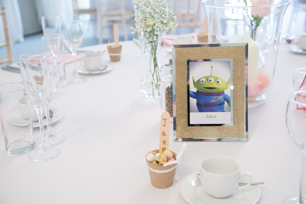 Toy Story Themed table number