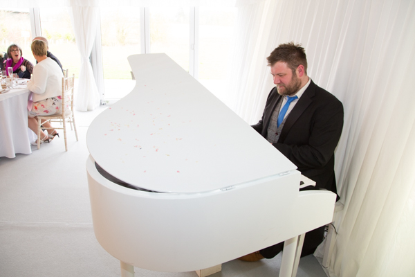 James Hey Piano at Priory barn and cottagesl