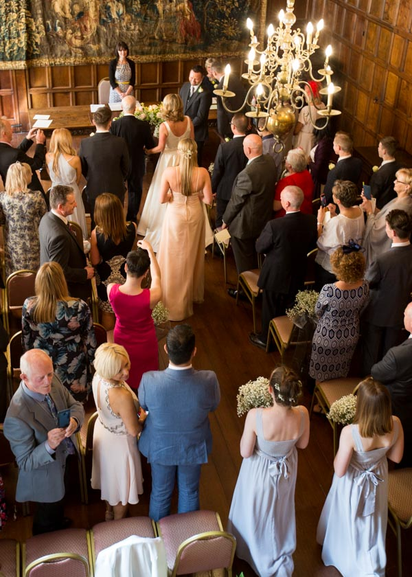 Cannon Hall Museum wedding ceremony in the Ballroom