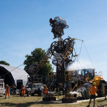 The Man Engine at Wentworth Woodhouse