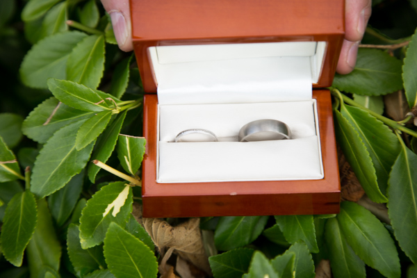Wedding rings before they're worn at Tankersley Manor Wedding