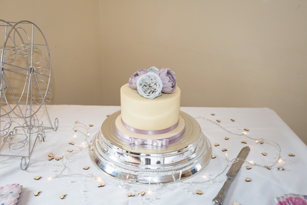 Wedding cake at Tankerlsey Manor Wedding