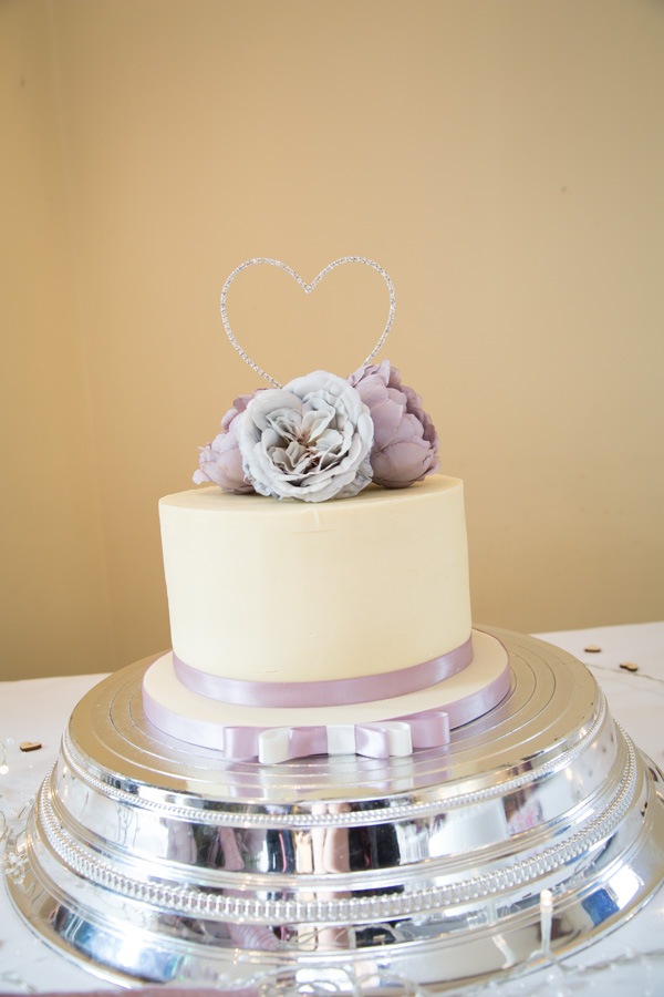 Wedding cake by Cake on Me Chesterfield