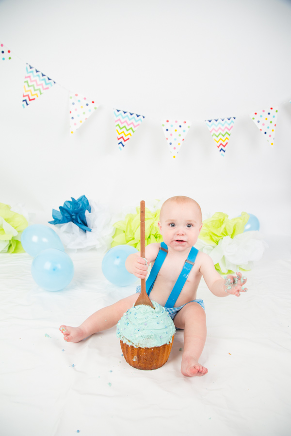 Cake Smash at Charlotte Elizabeth Photography