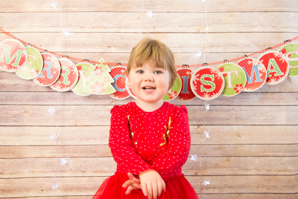 Christmas photography sessions barnsley