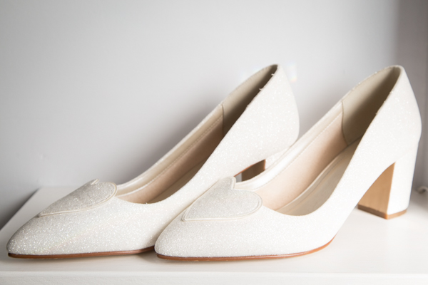 Bridal shoes by rainbow club