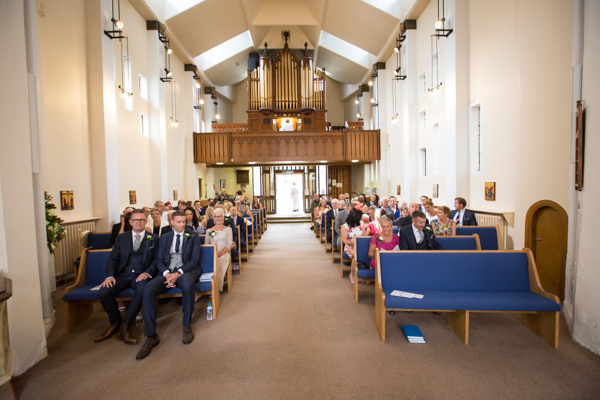 The congregation at All Saints Church Pontefract