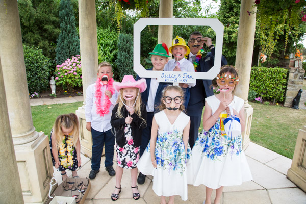 DIY Photobooth at Rogerthorpe Manor Wedding