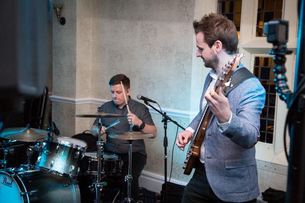 The Hypertones at Rogerthorpe Manor Wedding