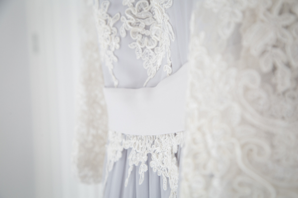 Bridal gown detail from Klue Doll Bridal Wear