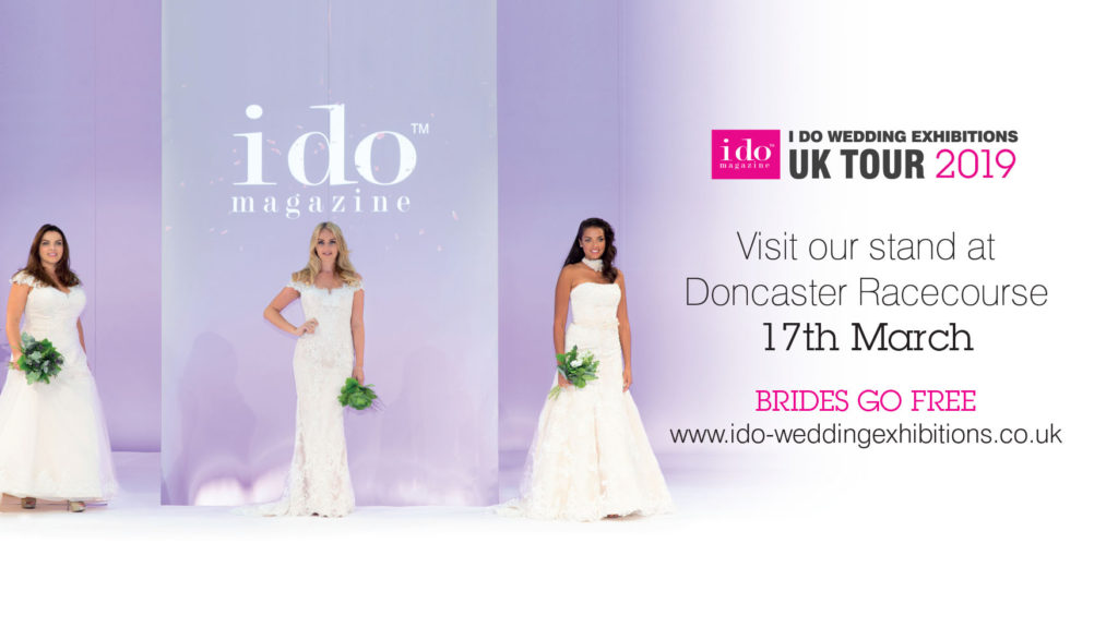 I do magazine wedding exhibition at Doncaster Racecourse 17th March 2019