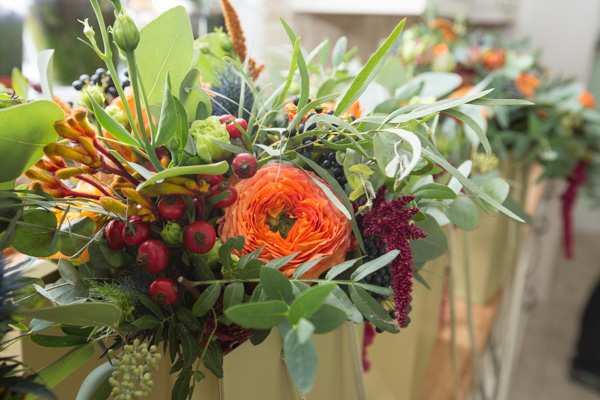 Autumn flowers by Sweetpea and thyme