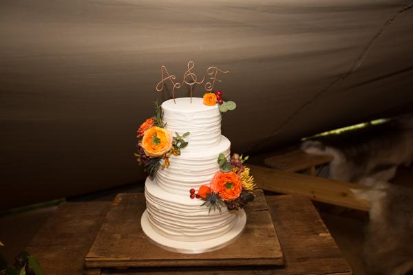 Wedding cake by SJ Cakes