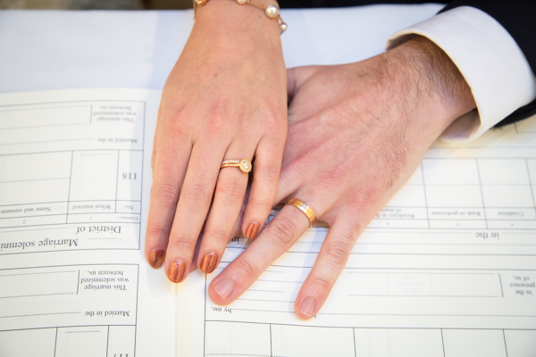 Wedding rings by Green + Benz Sheffield