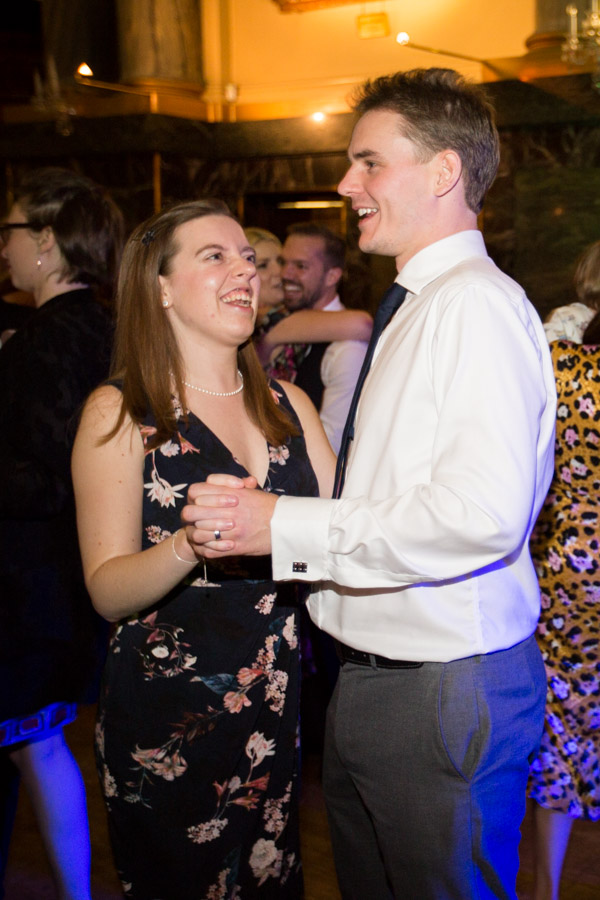 Guests on the dance floor at Cutlers' Hall Sheffield