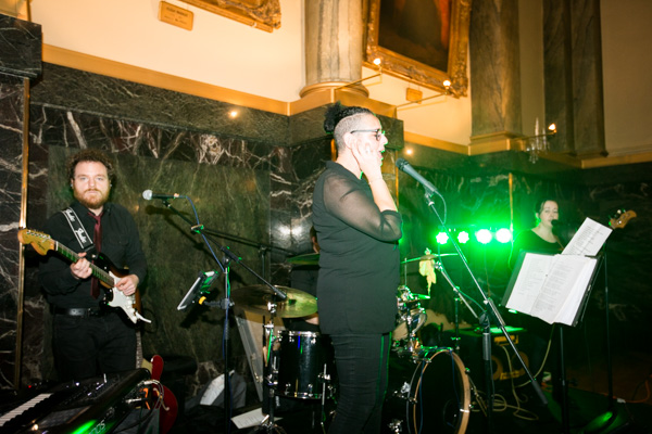 Live band at Cutlers' Hall Sheffiled