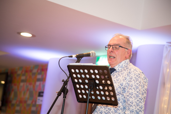 Father of the groom giving his speech at Ibis Styles Hotel Barnsley wedding