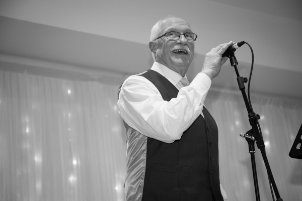 Father of the Bride givibng a speech at Ibis Styles Hotel Barnsley wedding