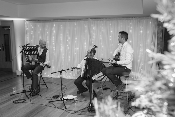 Groom and friends playing at Ibis Styles Hotel on the wedding day