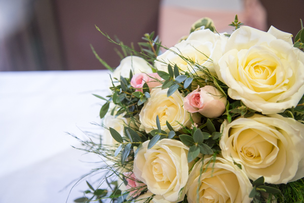 Wedding bouquet by floral designs by lisa