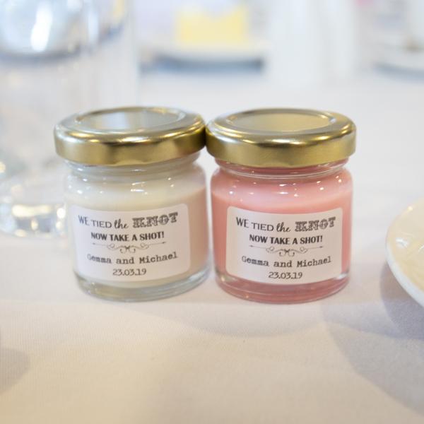 Shots in jars at Holiday Inn Barnsley