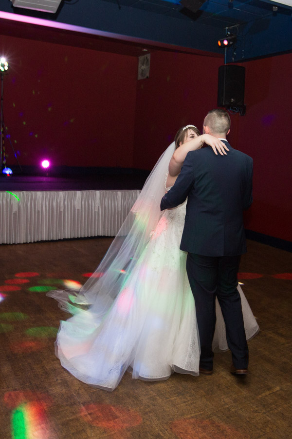 First dance in Scarlett's bar at Holiday Inn Barnsley
