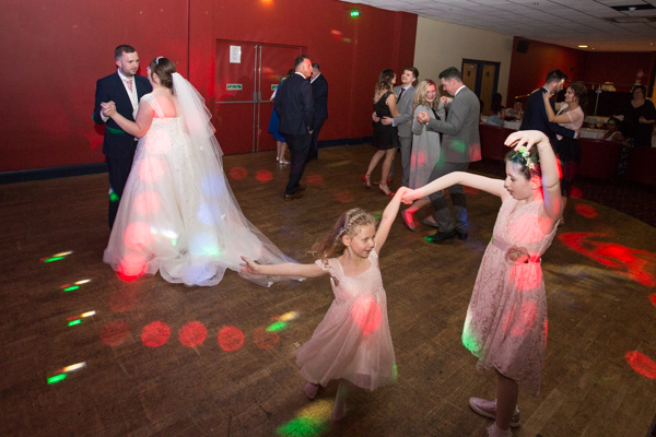 Guests on the dancefloor at Holiday Inn Barnsley