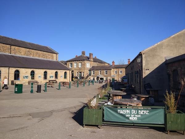 Elsecar haritage centre with maison du sign