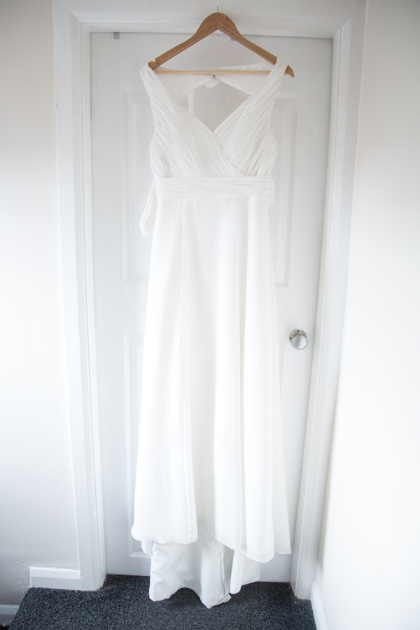 Wedding dress from Bridal Outles