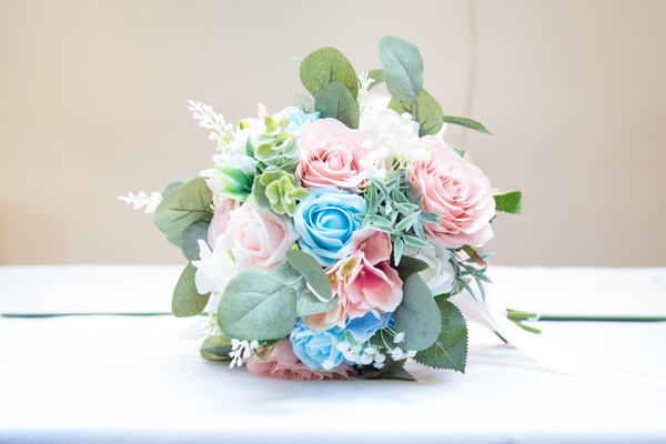 The bridal bouquet by Crystal Foam Wedding Flowers