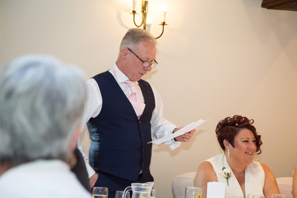 Uncle of the bride speech at Tankersley Manor Wedding