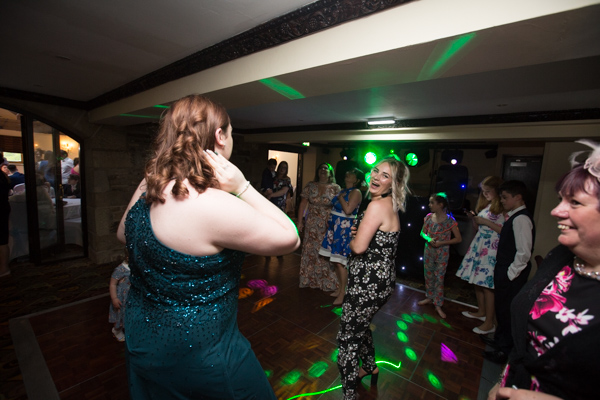 Guests Dancing at Tankersley Manor Wedding