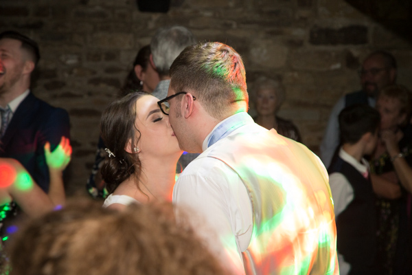 The first dance at Tankersley Manor Hotel Wedding