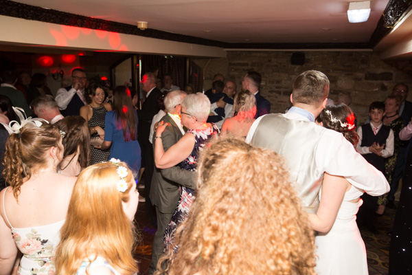 Guests Dancing at Tankersley Manor Hotel Wedding
