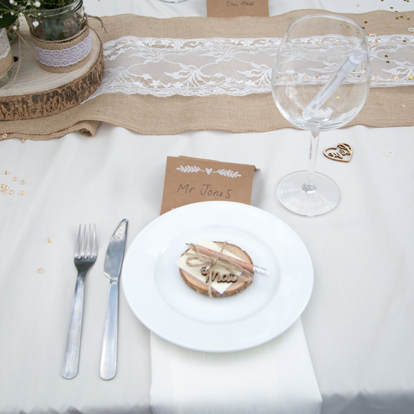 Personlaised keyring wedding favour