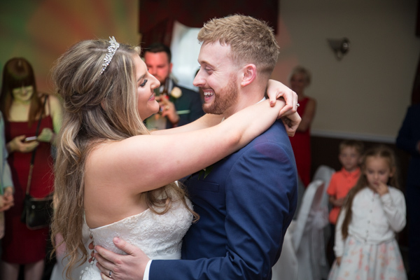 The first dance at Holiday Inn Barnsley Wedding
